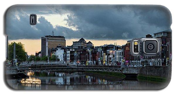 Dublin Sky At Sunset Galaxy S5 Case