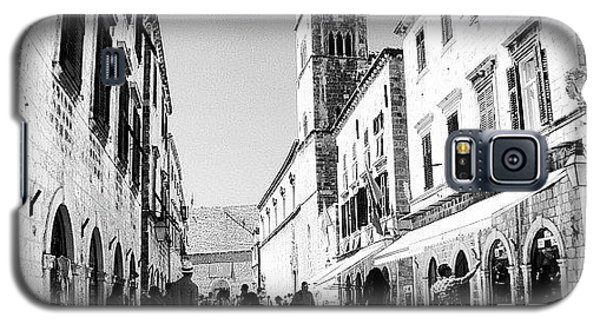 Instagood Galaxy S5 Case - #dubrovnik #b&w #edit by Alan Khalfin