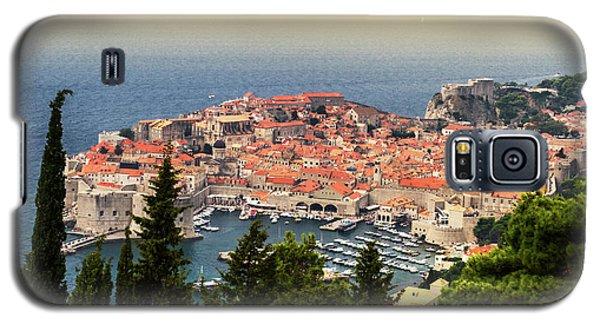 Dubrovnik Old City On The Adriatic Sea, South Dalmatia Region, C Galaxy S5 Case