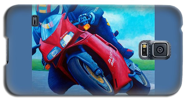Ducati 916 Galaxy S5 Case by Brian  Commerford