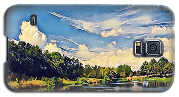 Galaxy S5 Case featuring the photograph Duck Creek by Diane Miller