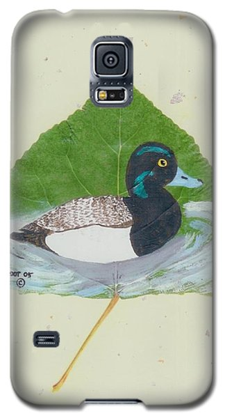 Duck On Pond #2 Galaxy S5 Case