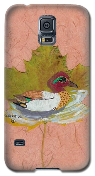 Duck On Pond Galaxy S5 Case