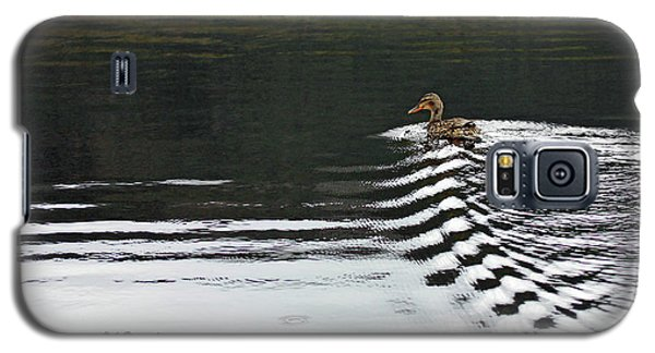 Duck On Ripple Wake Galaxy S5 Case
