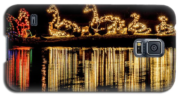 Duck Pond Christmas Galaxy S5 Case