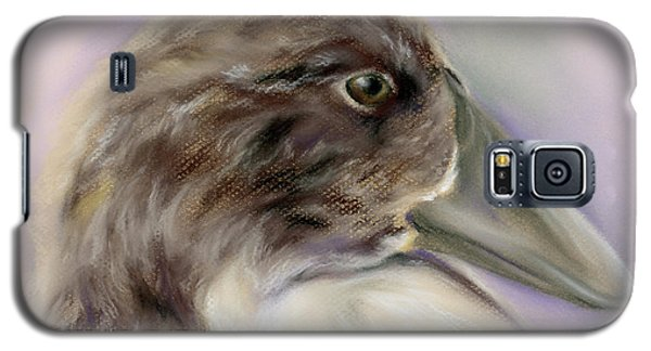Duck Portrait In Gray And Brown Galaxy S5 Case