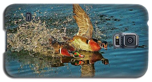 Duck Racing, Wood Ducks Galaxy S5 Case