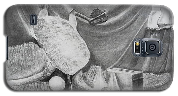 Duck Study On A Table Galaxy S5 Case