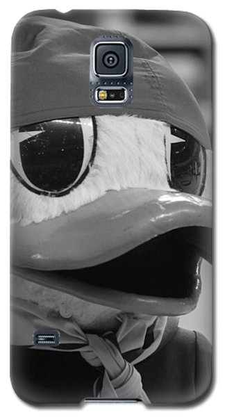 Galaxy S5 Case featuring the photograph Ducking Around by Laddie Halupa