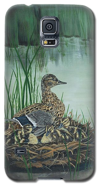 Ducks In Lifting Fog Galaxy S5 Case