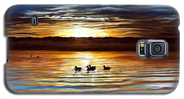 Ducks On Clear Lake Galaxy S5 Case