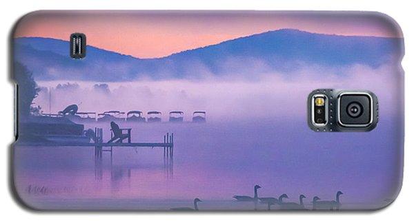 Ducks Under Fog Galaxy S5 Case