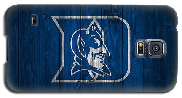 Duke Blue Devils Barn Door Galaxy S5 Case by Dan Sproul