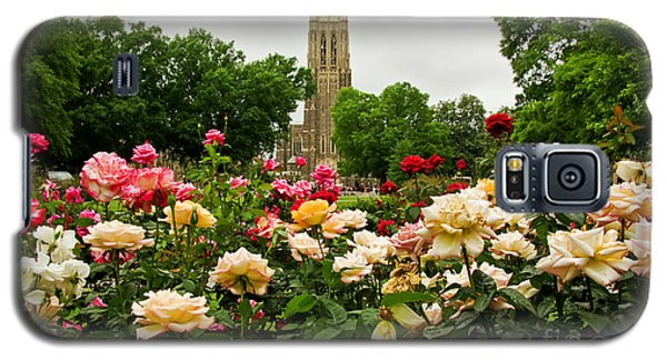 Duke Chapel And Roses Galaxy S5 Case