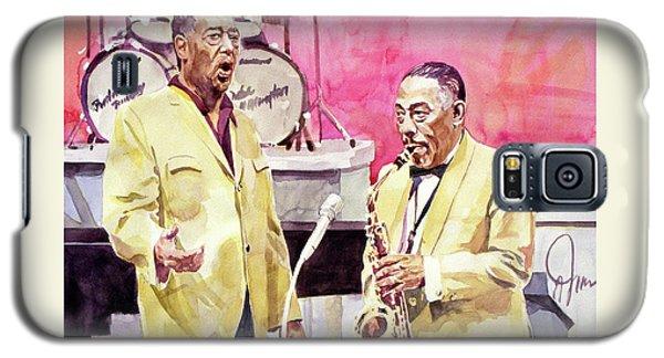 Duke Ellington And Johnny Hodges Galaxy S5 Case