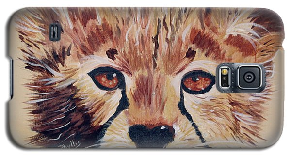 Galaxy S5 Case featuring the painting Duma by Phyllis Kaltenbach