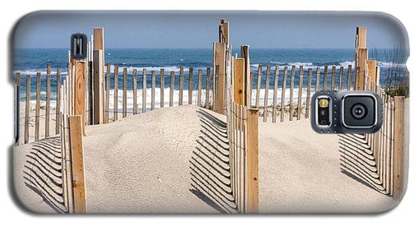 Dune Fence Landscape Galaxy S5 Case