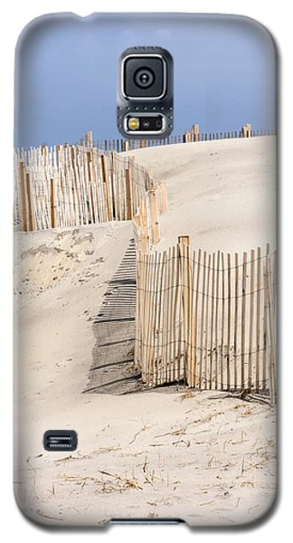 Dune Fence Portrait Galaxy S5 Case