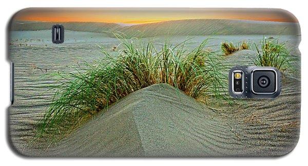 Dune Grass Of Bruneau Idaho Galaxy S5 Case