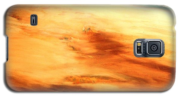 Galaxy S5 Case featuring the painting Dune Shadows by Winsome Gunning