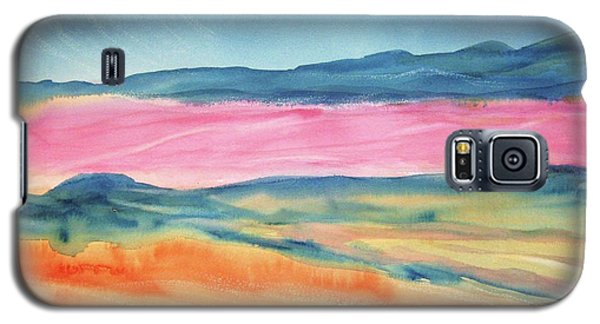 Galaxy S5 Case featuring the painting Dunes by Ellen Levinson