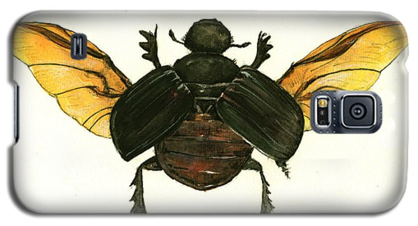 Dung Beetle Galaxy S5 Case by Juan Bosco