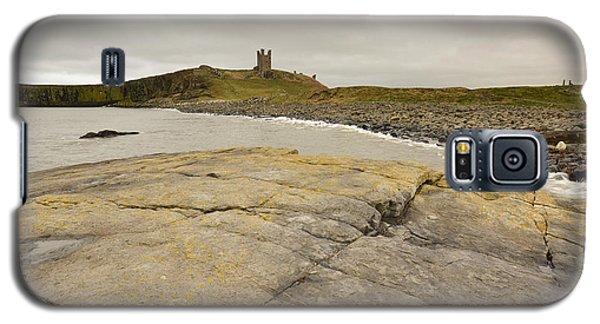 Castle Galaxy S5 Case - Dunstanburgh Castle by Smart Aviation