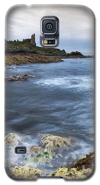 Castle Galaxy S5 Case - Dunure Castle Scotland  by Mark Mc neill