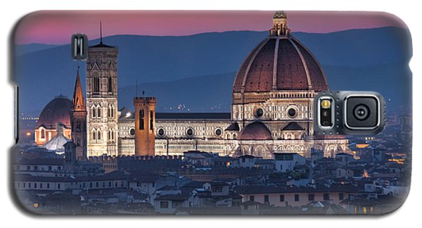 Galaxy S5 Case featuring the photograph Duomo Di Firenze by Brent Durken