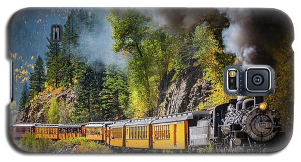 Train Galaxy S5 Case - Durango-silverton Narrow Gauge Railroad by Inge Johnsson