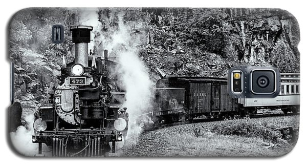 Durango Silverton Train Bandw Galaxy S5 Case