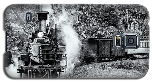 Durango Silverton Train Bandw Galaxy S5 Case