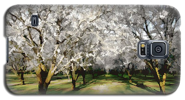 Durham Almond Blossoms Galaxy S5 Case