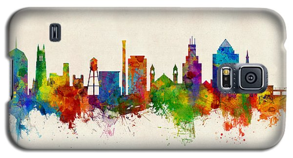 Duke Galaxy S5 Case - Durham North Carolina Skyline by Michael Tompsett