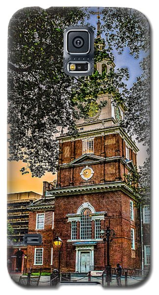 Dusk At Independence Hall Galaxy S5 Case
