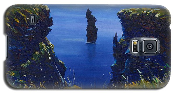 Dusk At The Devils Castle Galaxy S5 Case