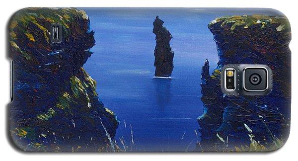 Dusk At The Devils Castle Galaxy S5 Case