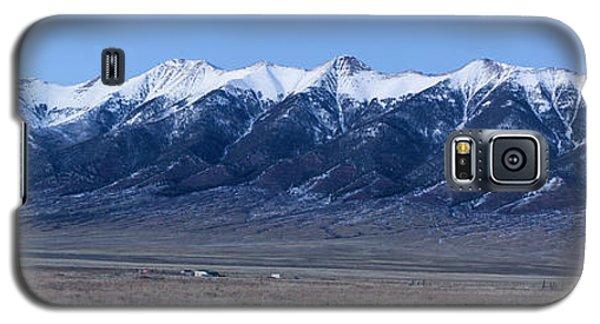 Sangre De Cristo Galaxy S5 Case - Dusk At The Sangre De Cristo Mountains by Twenty Two North Photography