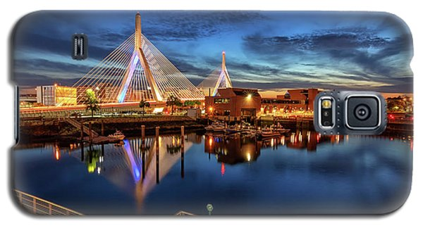 Dusk At The Zakim Bridge Galaxy S5 Case