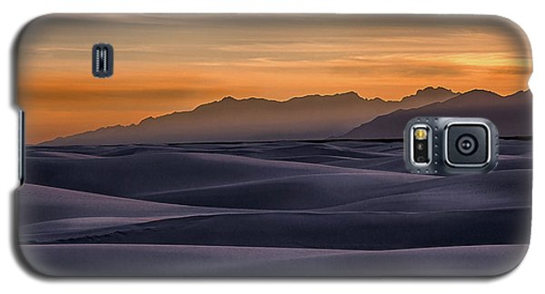 Dusk At White Sands Galaxy S5 Case