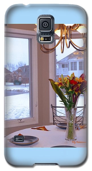 Dusk Dining View Galaxy S5 Case