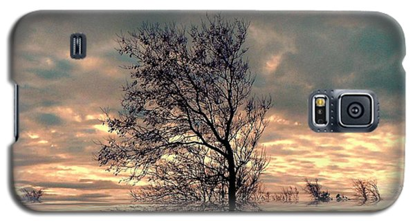 Galaxy S5 Case featuring the photograph Dusk by Elfriede Fulda