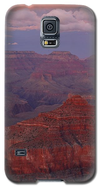 Galaxy S5 Case featuring the photograph Dusk From Mather Point by Stephen  Vecchiotti