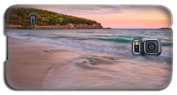 Dusk Glow At Sand Beach Galaxy S5 Case