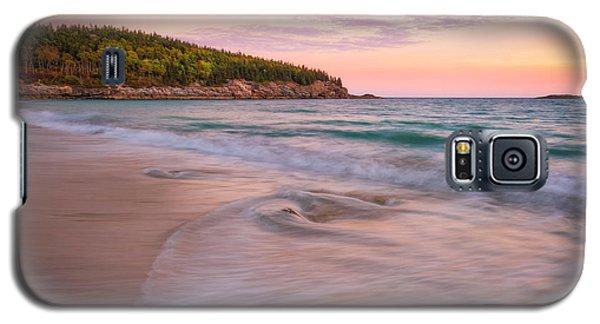 Dusk Glow At Sand Beach Galaxy S5 Case