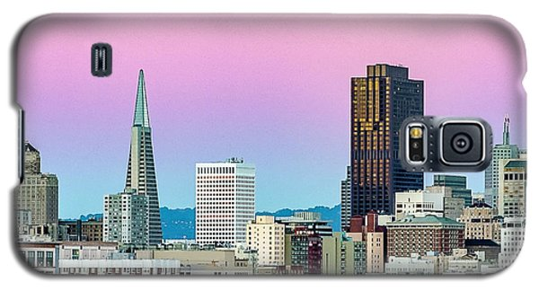 Galaxy S5 Case featuring the photograph Dusk In San Francisco by Bill Gallagher