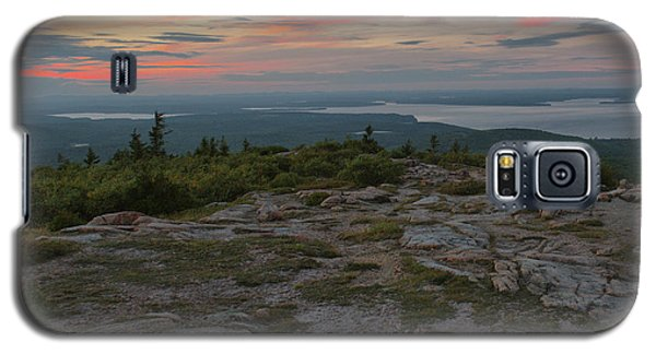 Galaxy S5 Case featuring the photograph Dusk On Cadillac Ountain by Stephen  Vecchiotti