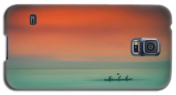 Dusk On The Lake Galaxy S5 Case