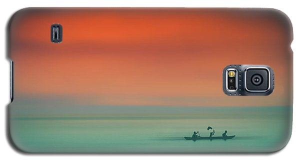 Dusk On The Lake Galaxy S5 Case