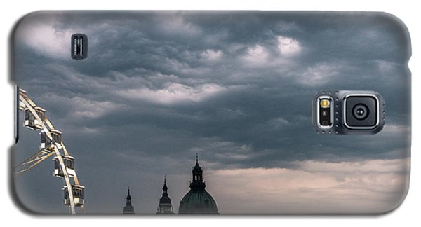 Galaxy S5 Case featuring the photograph Dusk Over Budapest by Alex Lapidus